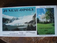 Board Game: Juneau-Opoly