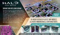 Board Game: Halo: Fleet Battles – Covenant Core Battle Group Upgrade