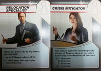 Board Game: Pandemic: Survival Promos – Crisis Mitigator/Relocation Specialist