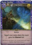 Board Game: Mage Wars: Holy Strike Promo Card