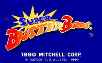 Video Game: Super Buster Bros.