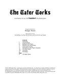 RPG Item: The Water Works