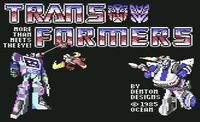 Video Game: The Transformers