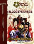 RPG Item: Bloodspeakers