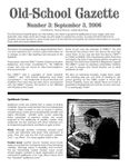 Issue: Old-School Gazette (Issue 3 - Sep 2006)