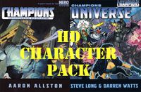RPG Item: Champions and Champions Universe (HD Character Pack)