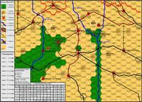 Board Game: The Battle of Brunete