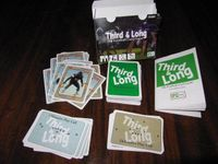 Board Game: Third and Long: The Football Card Game