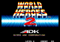 Video Game: World Heroes 2