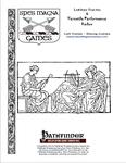RPG Item: Latina Facta & Versatile Performance Redux