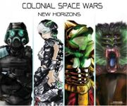 Board Game: Colonial Space Wars: New Horizons