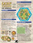 Board Game: Catan Scenarios: Oil Springs