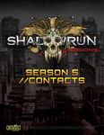 RPG Item: Shadowrun Missions: Season 5//Contacts