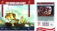 Board Game: For Honor and Glory: War of 1812 Land and Naval Battles