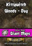 RPG Item: Heroic Maps Giant Maps: Kittywitch Woods - Day