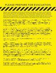 RPG Item: Please Prepare for Evacuation