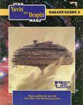 RPG Item: Galaxy Guide 02: Yavin and Bespin (WEG Original Edition)
