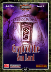 RPG Item: A01: Crypt of the Sun Lord (Pathfinder)