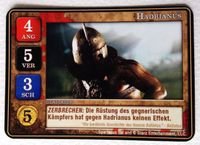 Board Game: Spartacus: Hadrianus Promo Card