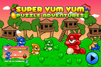 Video Game: Super Yum Yum; Puzzle Adventures