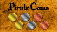 Board Game: Pirate Coins