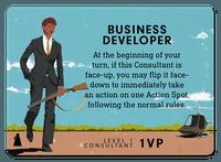 Board Game: Consultant: Business Developer