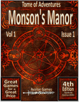RPG Item: Tomes of Adventure Vol 1 Issue 1: Morson's Manor