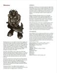 RPG Item: Classes of Fantasy: Minotaur