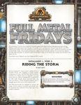 RPG Item: Full Metal Fridays Installment 1, Week 3: Riding the Storm