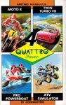Video Game Compilation: Quattro Power (1990)
