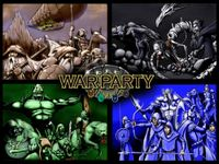 Board Game: Warparty