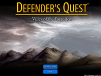 Video Game: Defender's Quest