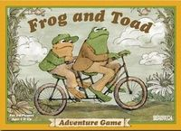 Board Game: Frog and Toad Adventure Game