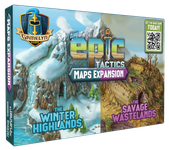 Board Game: Tiny Epic Tactics: Maps Expansion