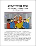 Star Trek RPG Solo Card and Dice Game (2002)