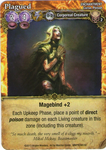 Board Game: Mage Wars: Plagued Promo Card