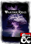 RPG Item: Weather Rules