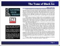 RPG Item: Lost Books 01: The Tome of Black Ice