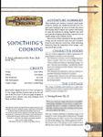 RPG Item: Something's Cooking