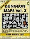 RPG Item: DMAP3: Dungeon Maps Vol. 3