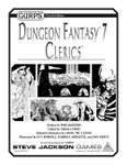 RPG Item: GURPS Dungeon Fantasy 07: Clerics
