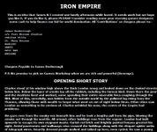 RPG Item: Iron Empire