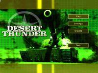 Video Game: Desert Thunder