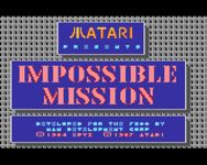 Video Game: Impossible Mission