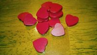 Board Game Accessory: Love Letter: Heart Tokens