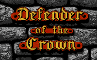 Video Game: Defender of the Crown