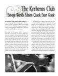 RPG Item: The Kerberos Club Quick-Start Guide (Savage Worlds)