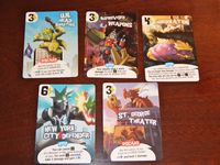 Board Game: King of New York: Promo Cards