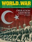Board Game: Operation Gertrud: The German invasion of Turkey