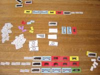 Board Game: Slow Freight